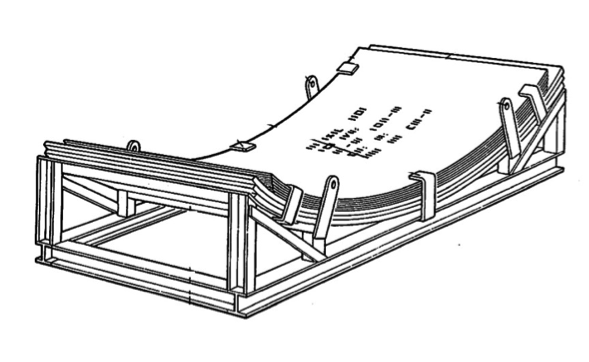 Embalaje de madera soporte