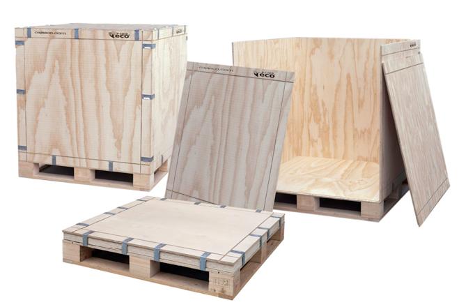 Caja Eco, embalaje ecológico