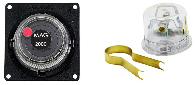 Detectores de impacto bidimensionales