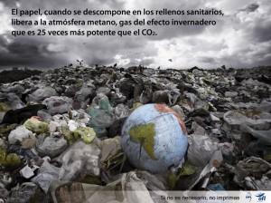 no residuo medio ambiente