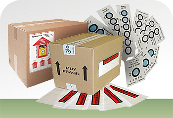 Elementos de control para embalaje